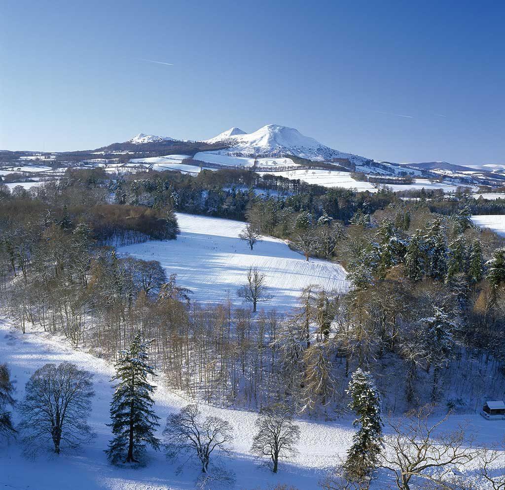 eildon hills walk Scottish Borders